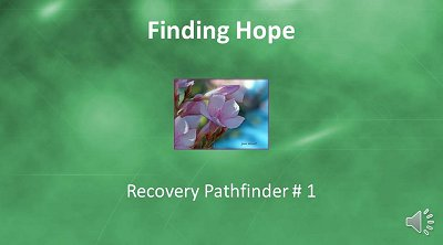 Finding Hope Pathfinder narrated video