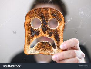 angry toast